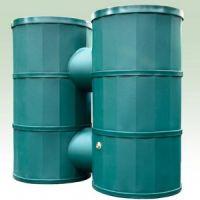 1200 Litre Green Dual Rainwater Harvesting Tank