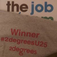 ItDoesTheJob's Dee Wood Sustainability Award Winner 2degrees under 25