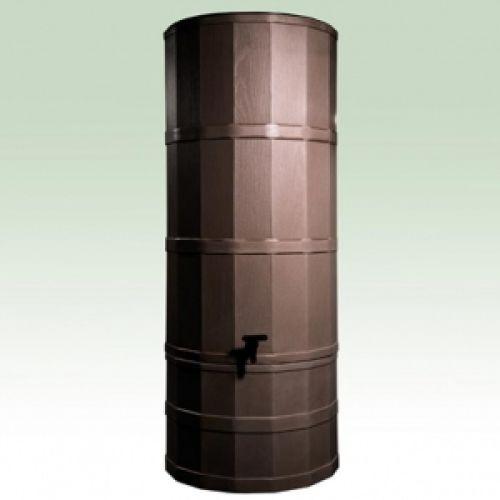 Oak 220 Litre Rainwater Harvesting Tank Installed In Garden