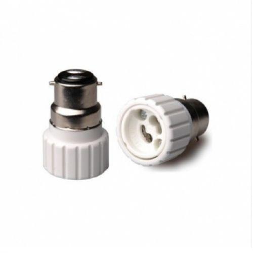 GU10 Bulb > B22 Fitting Lightbulb Adaptor