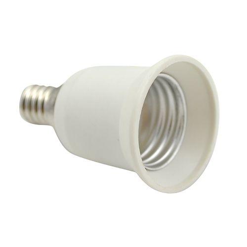 E27 Bulb > E14 Fitting Lightbulb Adaptor