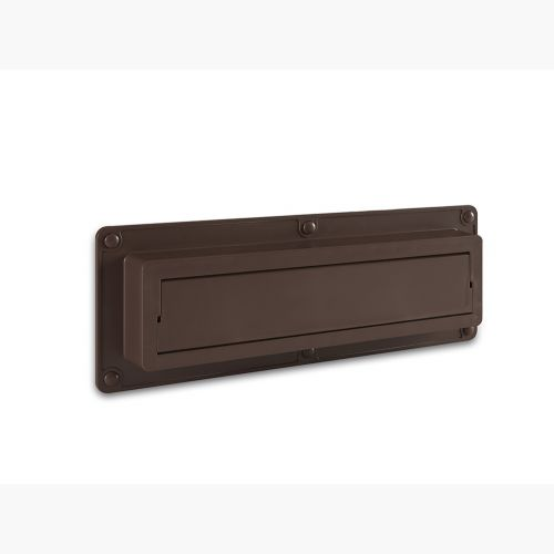 EcoFlap Letterbox Draught Excluder Brown