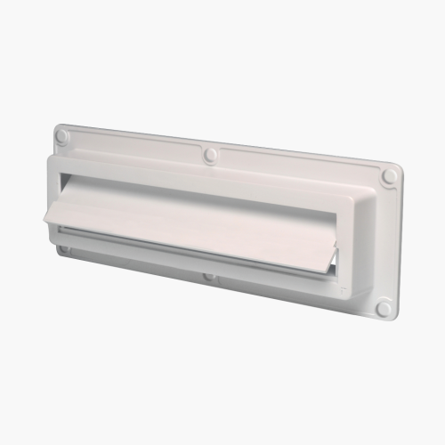 EcoFlap Letterbox Draught Excluder White