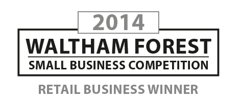 ItDoesTheJob.com winning Waltham Forest Small Business Competition Retail Business of the Year Award, 2014
