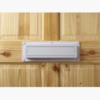 Ecoflap Draught Excluder Installed On Door