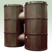 1200 Litre Oak Dual Rainwater Harvesting Tank