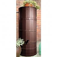 Oak 220 Litre Rainwater Harvesting Tank Installed In Garden