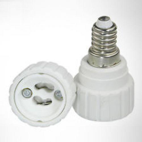 GU10 Bulb > E14 Fitting Lightbulb Adaptor