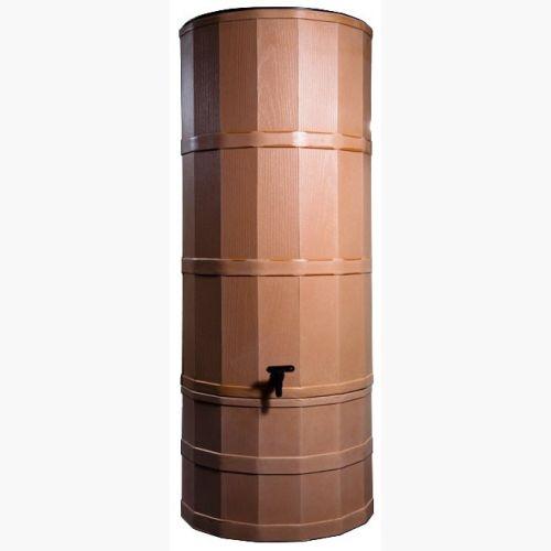 Terracotta 220 Litre Rainwater Harvesting Tank Installed In Garden